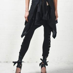 Oneteaspoon black swan pants